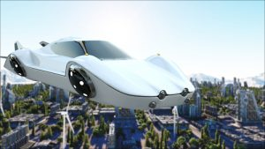 Flying Cars | From The Desk Of Jeff Mitchell
